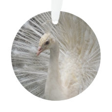 Imperial Peacock Ornament