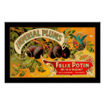 Imperial Plums Produce Crate Label - Poster 2