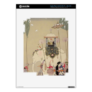 Imperial Procession (colour litho) iPad 3 Decal