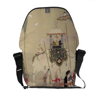 Imperial Procession (colour litho) Courier Bags