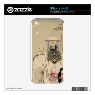 Imperial Procession (colour litho) Skin For The iPhone 4S