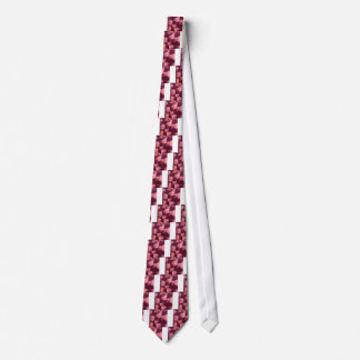 Imperial Purple Abstract Low Polygon Background Neck Tie