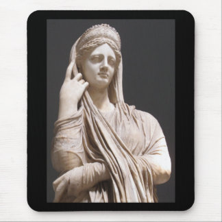 Imperial Roman women - statue Mouse Pad