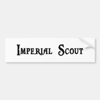 Imperial Scout Bumper Sticker