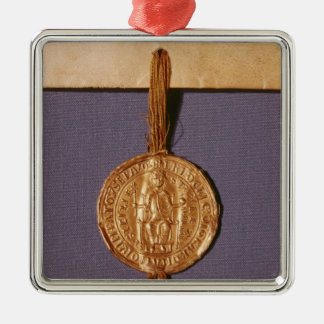 Imperial seal of Frederick II from the Metal Ornament