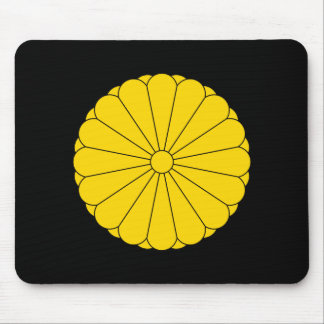 Imperial Seal of Japan Coat of Arms Mouse Pad