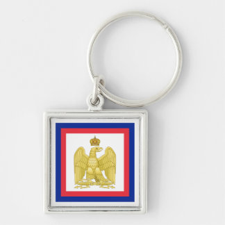 Imperial Standard Flag of Napoleon I Keychain
