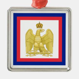 Imperial standard flag of Napoleon I Metal Ornament