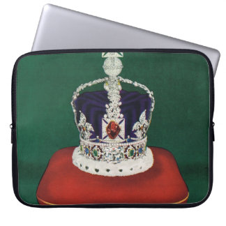 Imperial State Crown of England Computer Sleeve