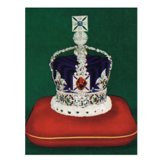 Imperial State Crown of England, Postcard
