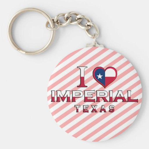Imperial, Texas Keychain