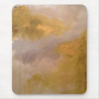 Imperial Topaz Abstract Painting Mouse Pad