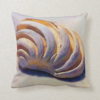 Imperial Venus Shell Throw Pillow