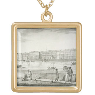 Imperial Winter Palace, St. Petersburg (litho) Necklaces