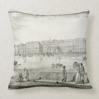 Imperial Winter Palace, St. Petersburg (litho) Pillows