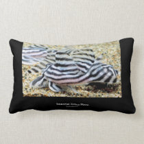 Imperial Zebra Pleco Lumbar Pillow