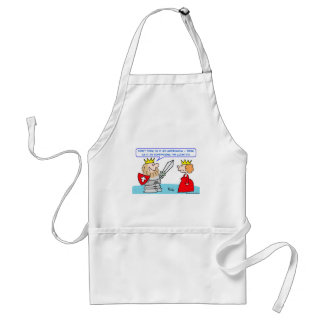imperialism supersizing country king adult apron