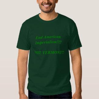 ¡Imperialismo del americano del extremo!!!! Polera