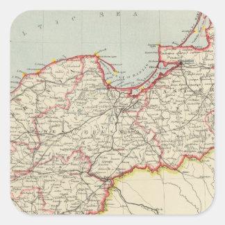 Imperio alemán de nordeste colcomanias cuadradases