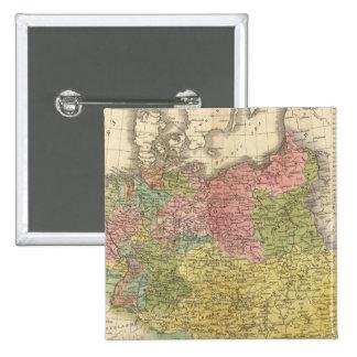 Imperio alemán pin cuadrado