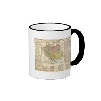 Imperio alemán taza de café