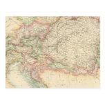 Imperio austríaco 4 tarjeta postal