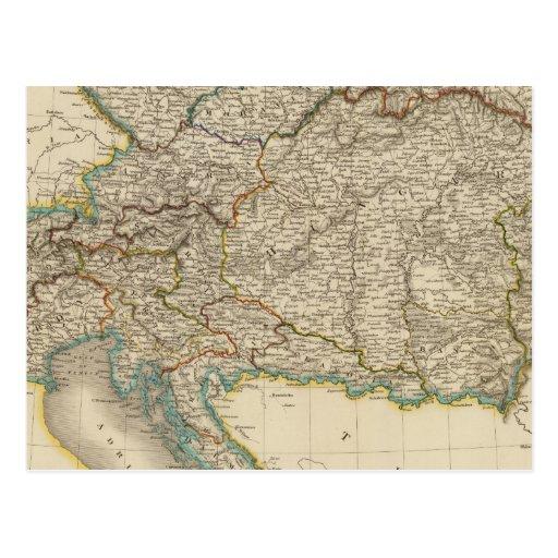 Imperio austríaco 6 postal