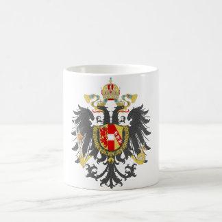 Imperio austríaco taza de café