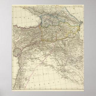 Imperio bizantino, del este póster