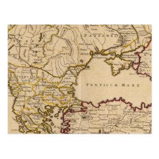 Imperio bizantino postal