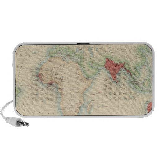 Imperio británico iPhone altavoces