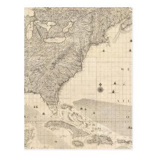 Imperio británico compuesto en América Postales