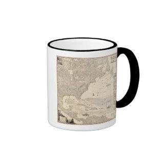 Imperio británico compuesto en América Tazas De Café