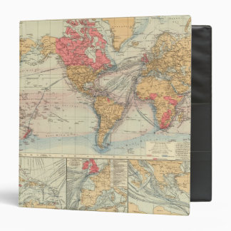 Imperio británico, rutas, corrientes