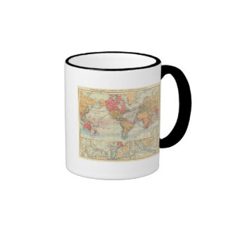 Imperio británico, rutas, corrientes taza