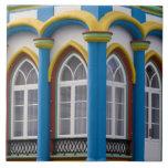 Imperio DA Caridade en el Praia DA Vitoria, Azulejo Cuadrado Grande