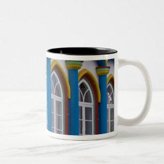 Imperio da Caridade in Praia Da Vitoria, Two-Tone Coffee Mug