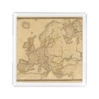 Imperio de Carlomagno Bandeja Cuadrada