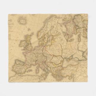 Imperio de Carlomagno Manta De Forro Polar