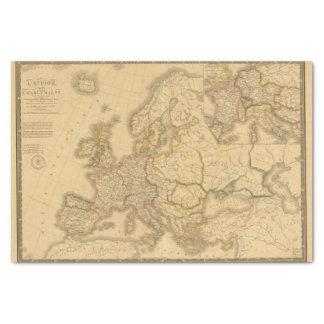 Imperio de Carlomagno Papel De Seda Pequeño
