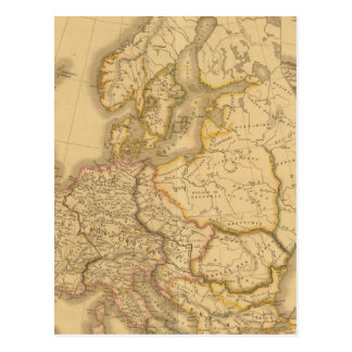 Imperio de Carlomagno Postales