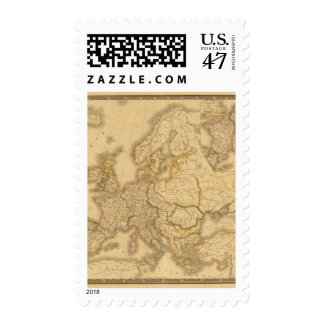 Imperio de Carlomagno Timbre Postal