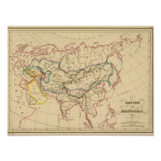 Imperio de los Mongols Posters