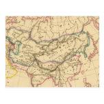 Imperio de los Mongols Tarjetas Postales