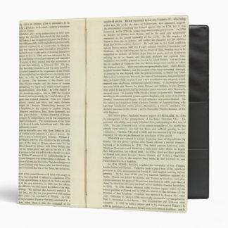 """Imperio del ANUNCIO 1811 de Napoleon Bonaparte 4 Carpeta 1 1/2"""""""