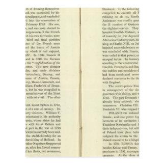 Imperio del ANUNCIO 1811 de Napoleon Bonaparte 4 Tarjeta Postal