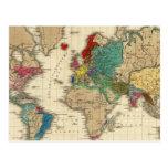 Imperio del ANUNCIO 1811 de Napoleon Bonaparte Postal