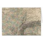 Imperio francés en 1811 tarjeta de felicitación