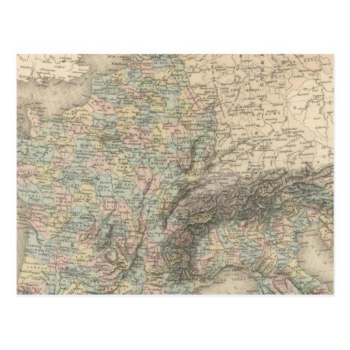 Imperio francés en 1811 tarjetas postales