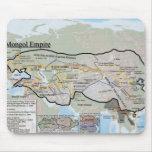 Imperio mongol Mousemat Tapete De Ratón